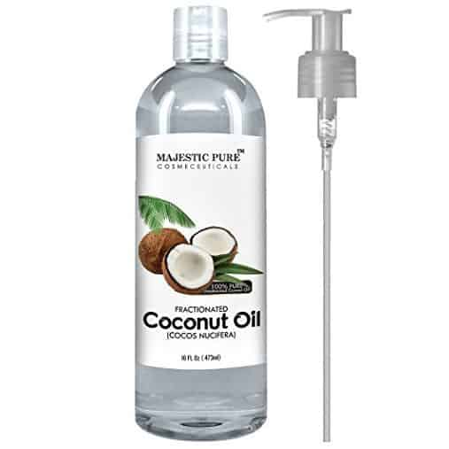Majestic Pure Fractionated Coconut Oil Only $12.95 (Was $31.50)