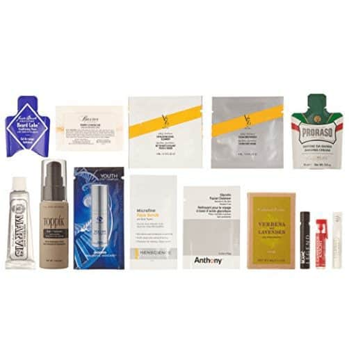 Luxury Men's Grooming Box, 10 or more samples FREE After Credit
