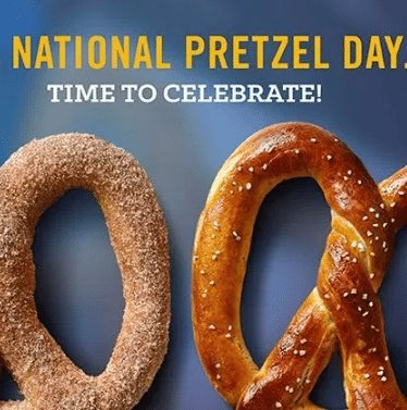 2018 National Pretzel Day: Free or Discounted Pretzels Nationwide