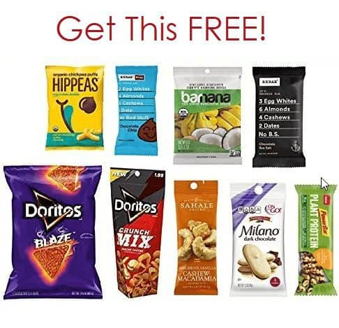 Snack Sample Box FREE After Credit