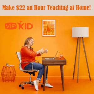 Make $22 Per Hour Teaching from Home