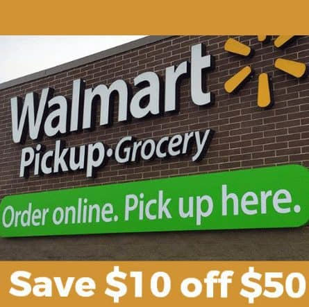 Save $10 Off Any $50 Walmart Grocery Purchase Code - New & Existing!!!!