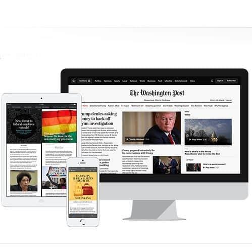 4 Week FREE Washington Post Digital Subscription for Amazon Prime Members