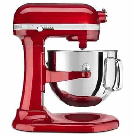 KitchenAid Professional 7-Quart Largest Lift Stand Mixer Candy Apple Red Only $269
