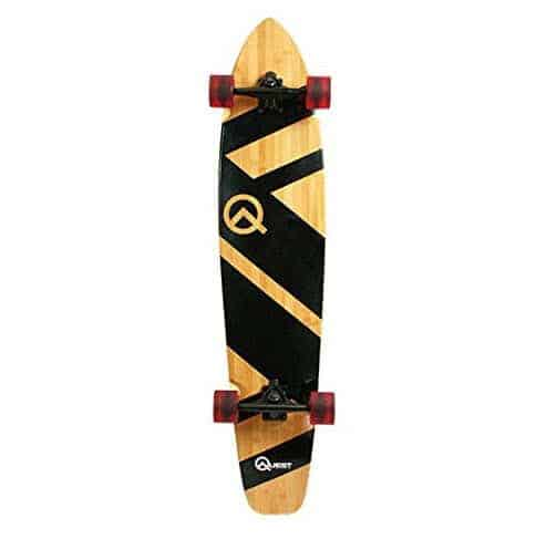 """Quest Artisan Bamboo and Maple 44"""" Longboard Skateboard Only $39.93 (Was $57.99)"""