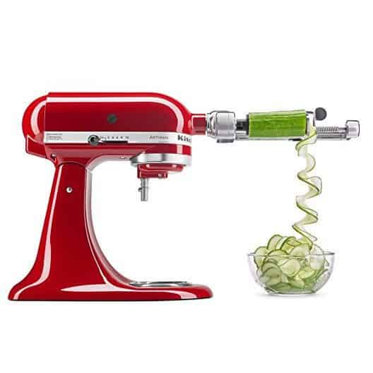 KitchenAid Spiralizer Attachment with Peel, Core and Slice Only $55.99 (Was $129.99)
