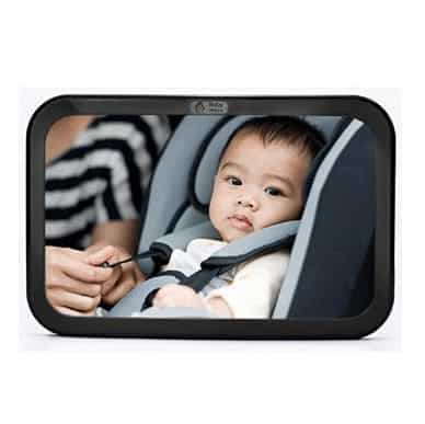 Rear View Baby Car Seat Mirror by Baby & Mom Only $10.99