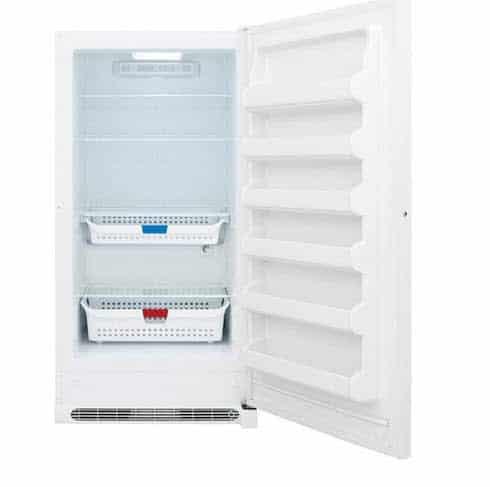 Lowe's Frigidaire 20.2-cu ft Frost-free Upright Freezer Only $599