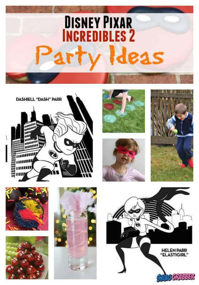 """15 """"Incredibles 2"""" Party Ideas"""