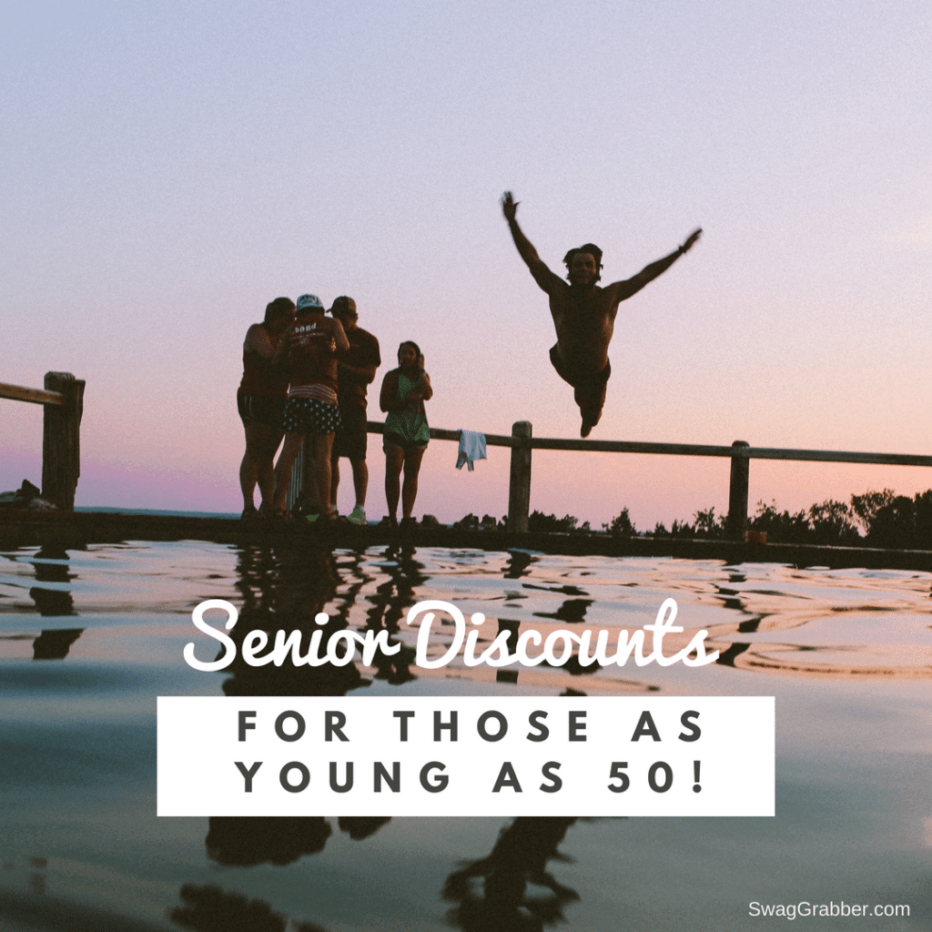 Senior Discount for Those As Young As 50