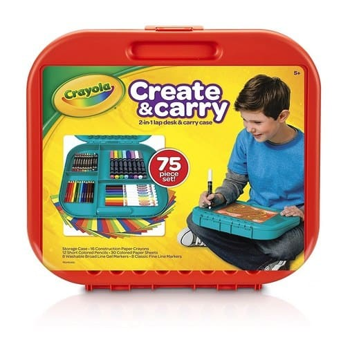 Crayola Create 'n Carry Case Portable Art Tools Kit Only $10.99 **Over 75 Pieces**