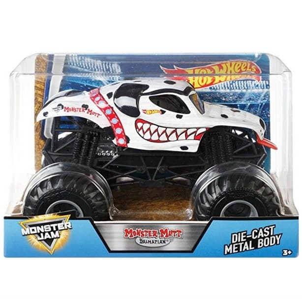 Up to 64% Off Hot Wheels Favorites ~ Monster Jam Mutt Dalmation Only $7.99 **Today Only**