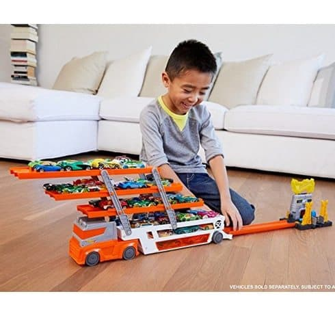 Hot Wheels Mega Hauler Truck Only $11.19 **Today Only**