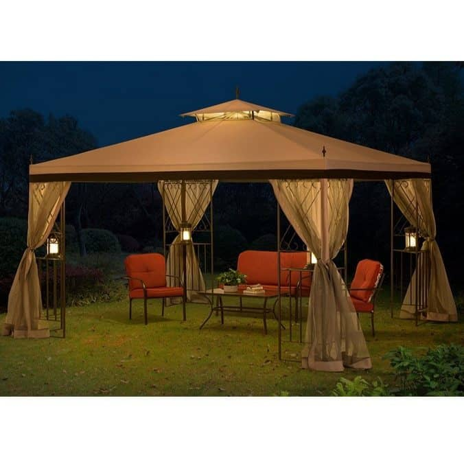 10' x 12' Monterey Gazebo with Netting $199.99 **Today Only**