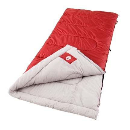 Up to 53% Off Coleman Camping Gear ~ Palmetto Cool Weather Sleeping Bag $18.74 **Today Only**