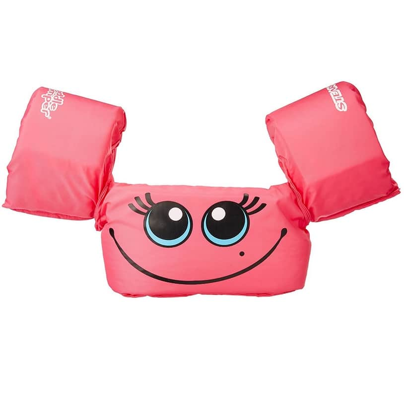 Stearns Puddle Jumper Pink Smile Life Jacket $14.24 + MORE Stearns Puddle Jumpers Deals **Today Only**