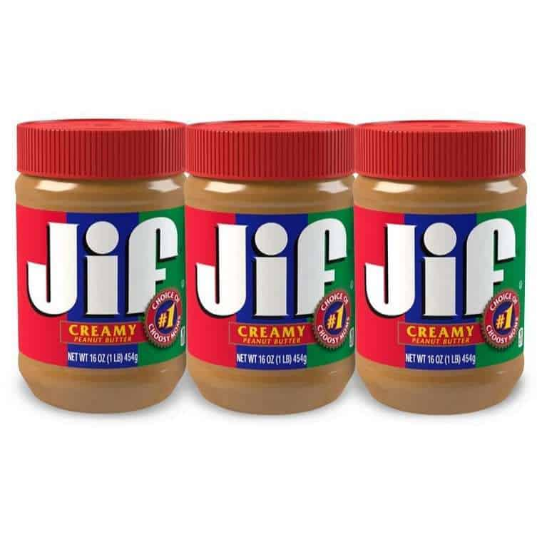Jif Creamy Peanut Butter 3-Pack Only $6.33