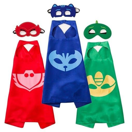 PJ Masks Costumes ~ 3 Capes and Masks Only $12.99