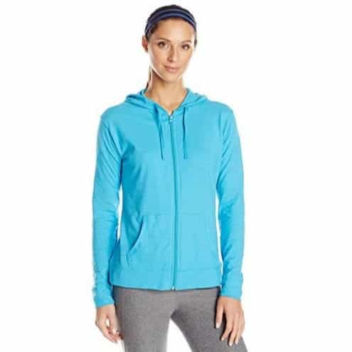 Hanes Women's Jersey Full Zip Hoodie Only $8.00 (Was $22.73)