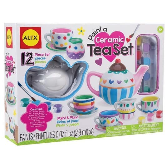ALEX Toys Craft Paint A Ceramic Tea Set Only $16.01 (Was $27)