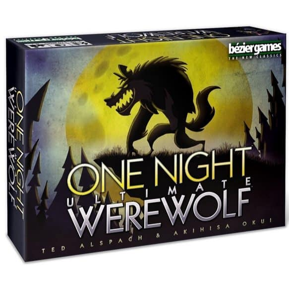 Bezier Games One Night Ultimate Werewolf Only $9.99 (Was $24.99)