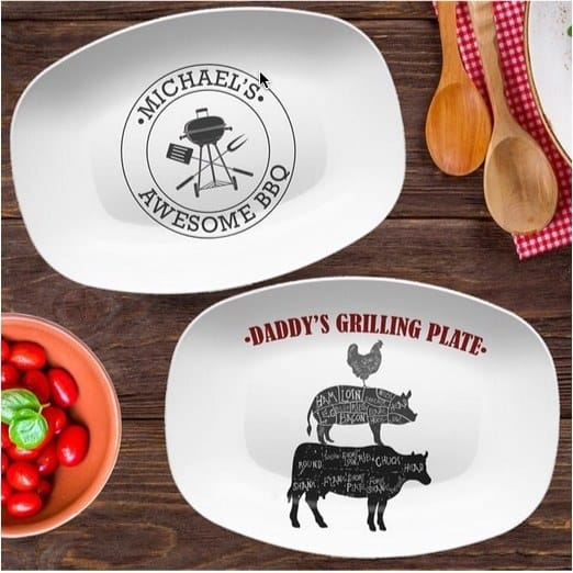 Personalized BBQ Grilling Platters $25.99
