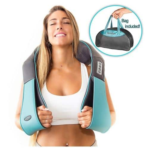 Shiatsu Back Neck and Shoulder Massager with Heat Only $35.97 **Today Only**