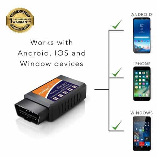 KOBRA Wireless OBD2 Car Code Reader Scan Tool (2-Pack) Only $24.99 **Today Only**