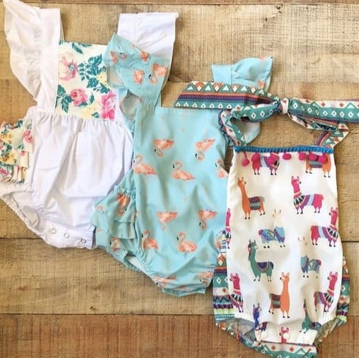 Adorable Girls Rompers Only $12.99 Each **33 Styles**