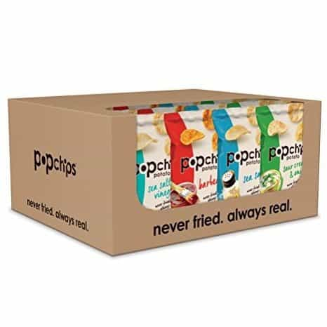 Popchips Potato Chips Variety Pack 24 Count Only $9.86