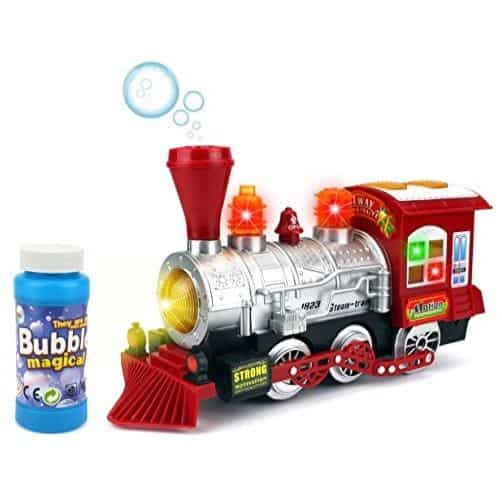 Bubble Blowing Toy Train w/ Lights & Sounds Only $11.50 (Was $39.99)