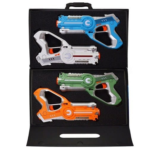 Dynasty Toys Laser Tag Set and Carrying Case Only $24.99