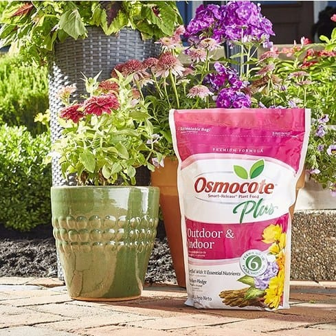 Osmocote Plus Outdoor and Indoor Smart-Release Plant Food 8-Pound Only $13.43