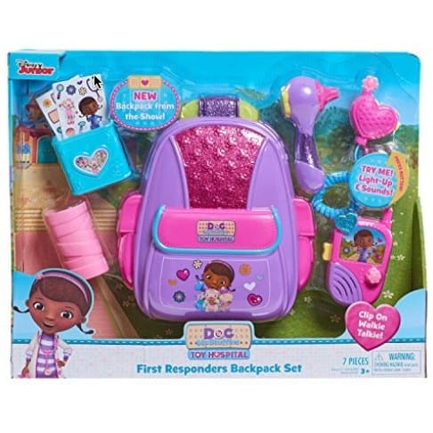 Doc McStuffins Just Play First Responders Backpack Set Only $10.88