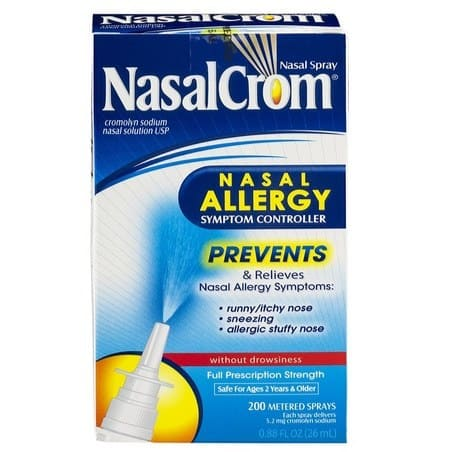 Save BIG on Allergy Products ~ NasalCrom Nasal Allergy Symptom Controller Only $9.81 **Today Only**
