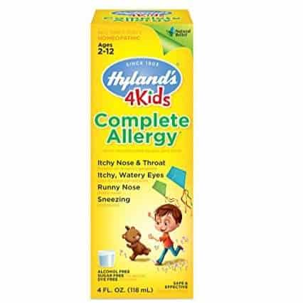 Hyland's Natural 4 Kids Complete Allergy Relief Syrup Only $4.96 + More HOT Deals on Allergy Products