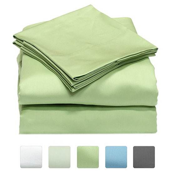 Up to 66% Off Callista Soft Sateen Weave 100% Cotton Sheet Sets ~ as low as $28.49 **Today Only**
