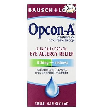 Bausch & Lomb/Opcon-A Eye Drops 3-Pack Only $10.90
