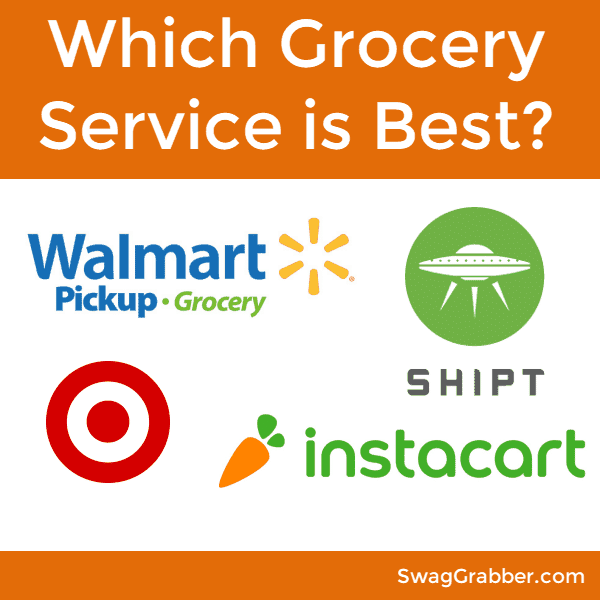 Which Grocery Service is Best? Shipt VS InstaCart VS Walmart