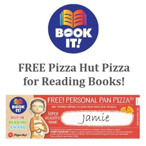 """Free Pizza Hut """"Book It"""" Program - Attn: Homeschoolers!"""