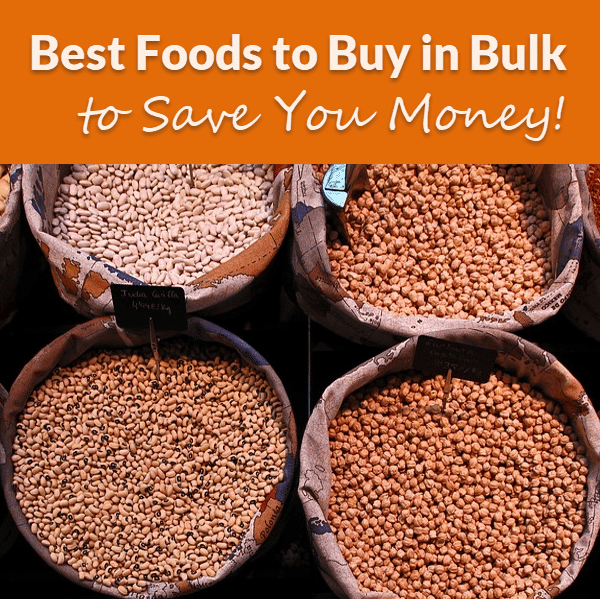 The Best Foods to Buy in Bulk to Save You Money