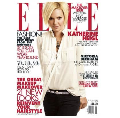 Free Two Year Subscription to Elle Magazine