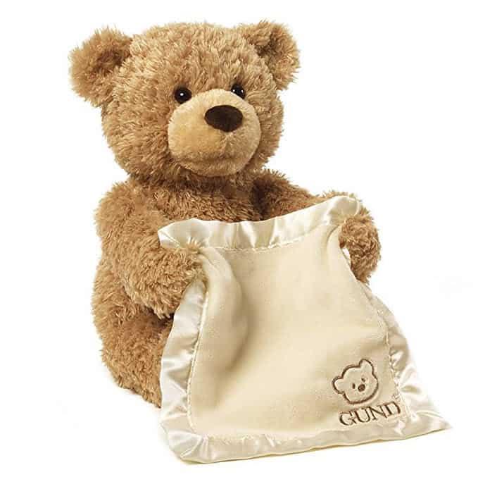 "GUND Peek-A-Boo Teddy Bear Animated Stuffed Animal Plush, 11.5"" Only $21.20 (Was $40.00)"