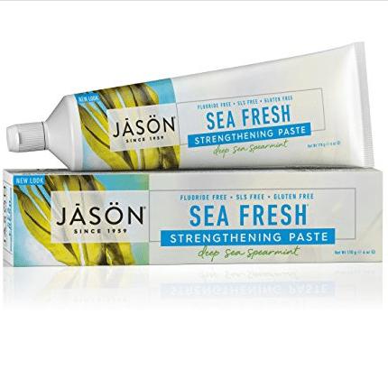 JASON Sea Fresh Strengthening Fluoride-Free Toothpaste Only $3.74