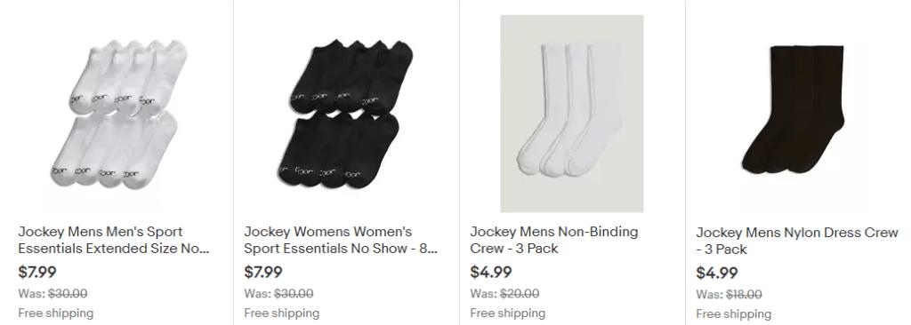 6-Pack Jockey Socks ONLY $5.99 Shipped