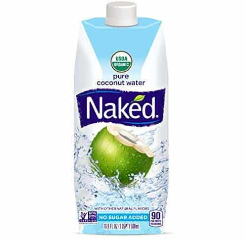 Naked Juice 100% Organic Pure Coconut Water 12-Pack Only $15.11