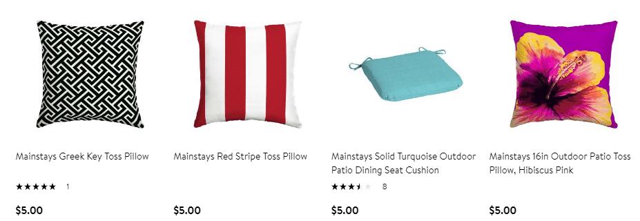 Walmart: Mainstays Dragonfly Toss Pillow Only $5