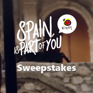 Spain is Part of You Sweepstakes - Win a 7 Day Trip