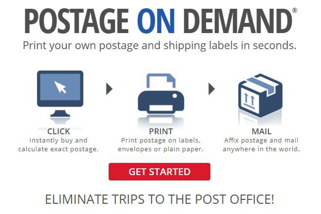 Get $5 in FREE Postage from Stamps.com