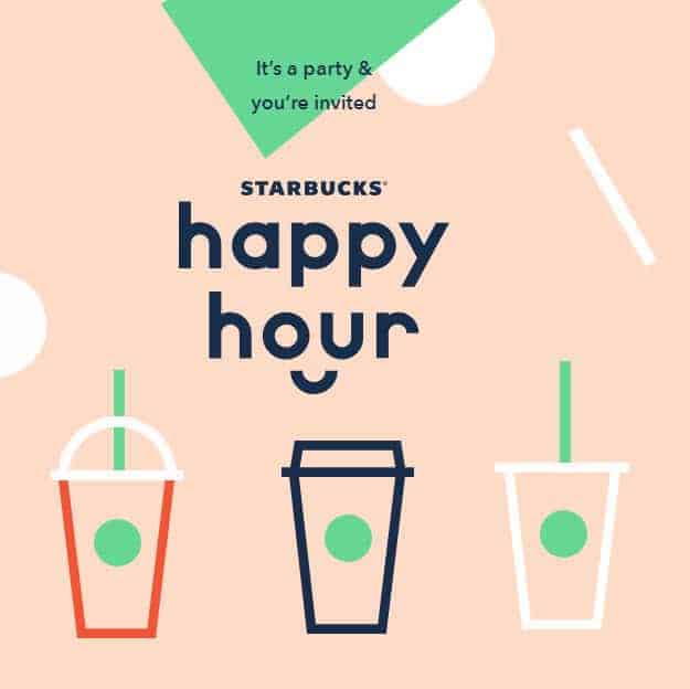 Starbucks Happy Hour: Buy One Grande Espresso Beverage, Get One FREE